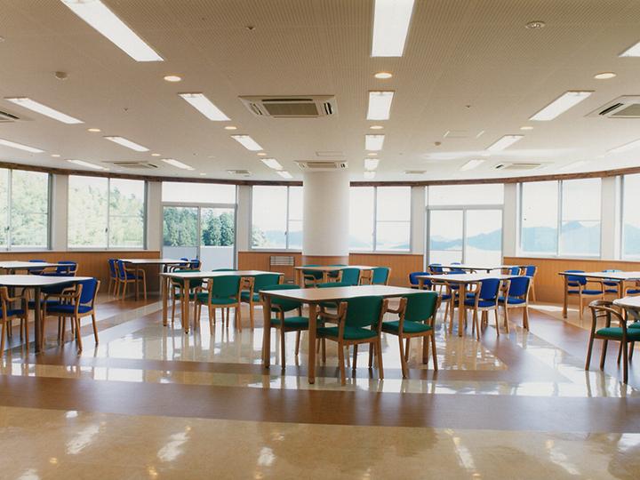 食堂・娯楽室・機能訓練室 (ケアハウス)