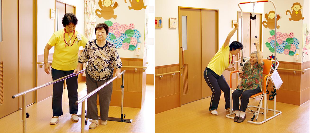 特別養護老人ホーム 機能訓練