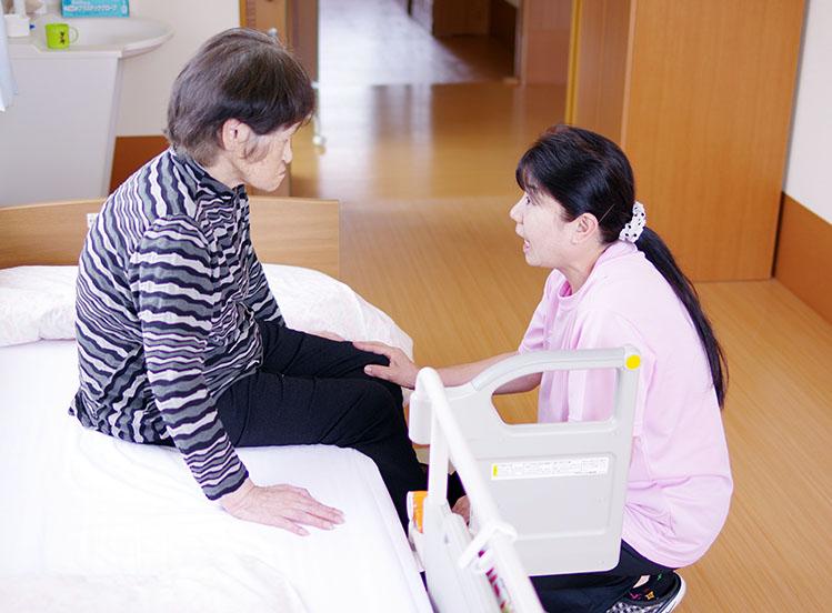 特別養護老人ホーム 1日の過ごし方 リラックスタイム