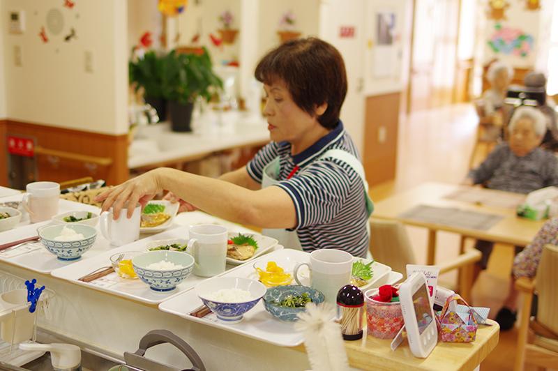 特別養護老人ホーム お食事